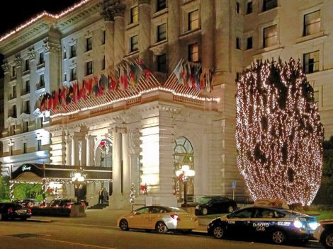 Sloat Singers at the Fairmont on December 2,  2014