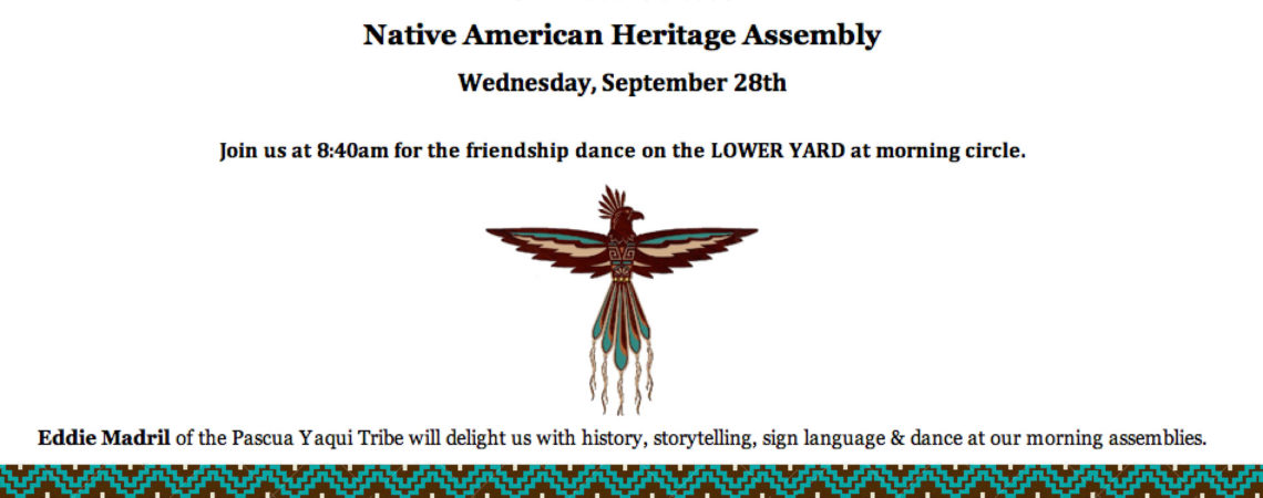 Native American Heritage Assembly