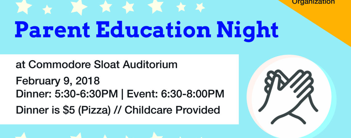 Parent Education Night!