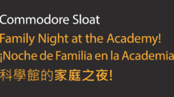 Sloat night at the Academy of Sciences! Free!