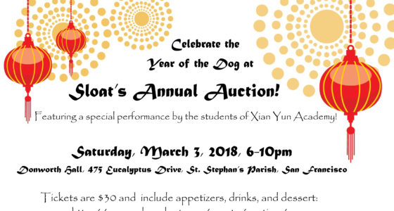 Annual Auction – Lunar New Year/Lantern Festival!