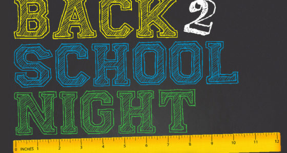 BACK-TO-SCHOOL NIGHT! – Tuesday, September 10 (5:15-7:30pm)